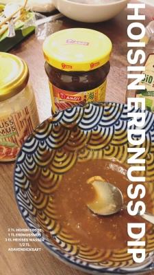 Erdnuss-Hoisin Dip